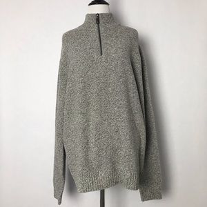 Club Monaco Quarter Zip Sweater
